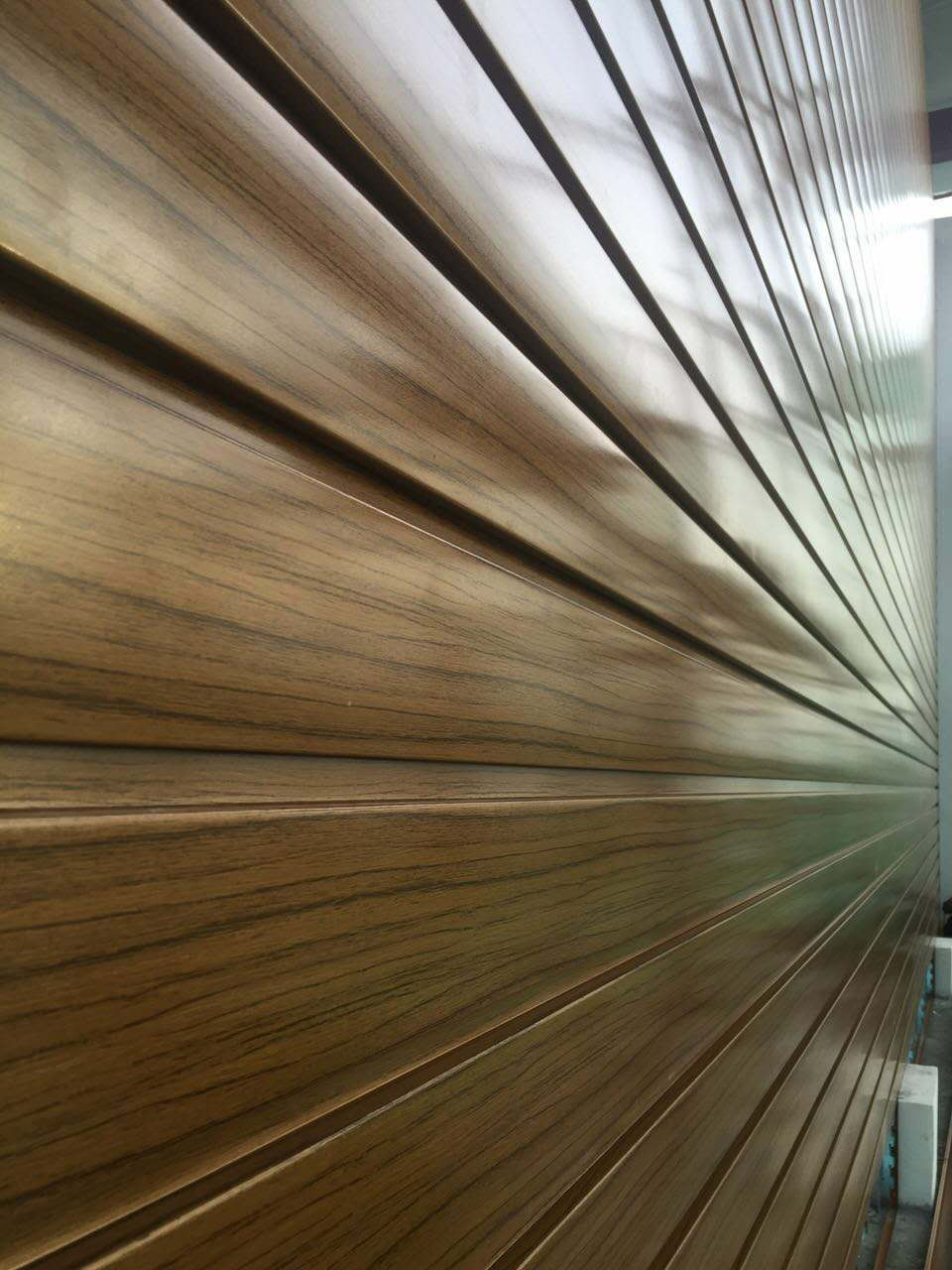 3003 wooden color aluminum strips for aluminum wall panel