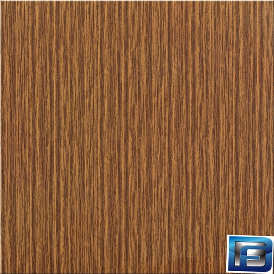 wood grain aluminum roll