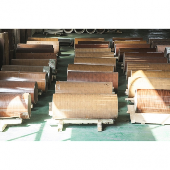 lacquered aluminum coil -Dingfeng wood grain aluminum coil Factory