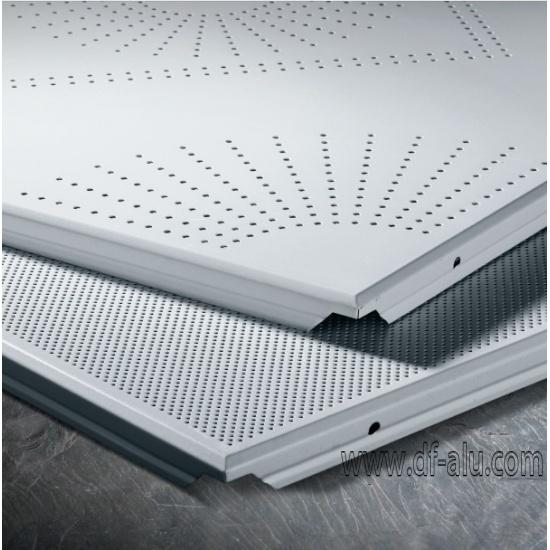 600x600mm Perforated Aluminum Ceiling Tile