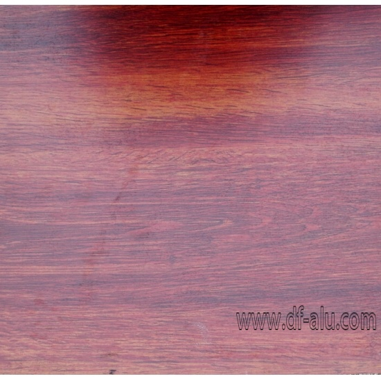 wood grain aluminium roll