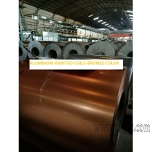 PAINTING ALUMINUM STRIP COIL FOR ADVERTISTING, COLORED STRIPS FOR CHANNEL LETTER