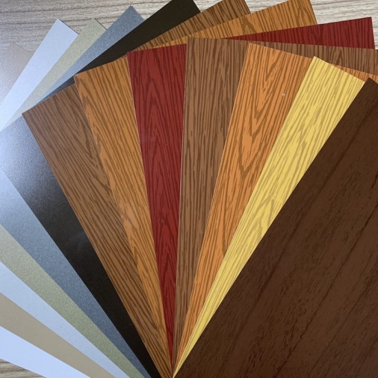 color aluminum strip