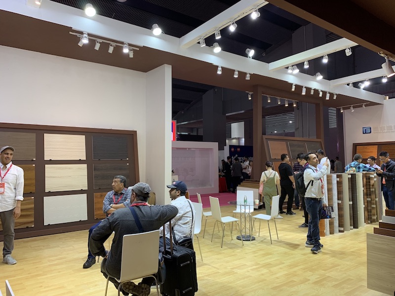 Dingfeng Building Materials attends the 43rd China International Furniture Fair(Guangzhou)