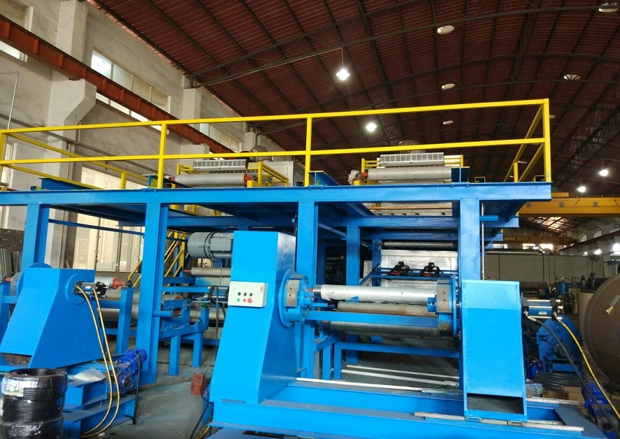 New coating production lines for color prepainted aluminum coils